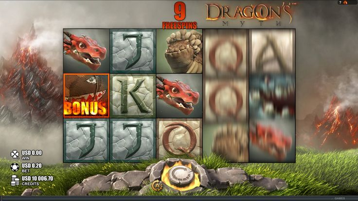 Enjoy Free Spins when you #play Dragon's Myth Online #Slot