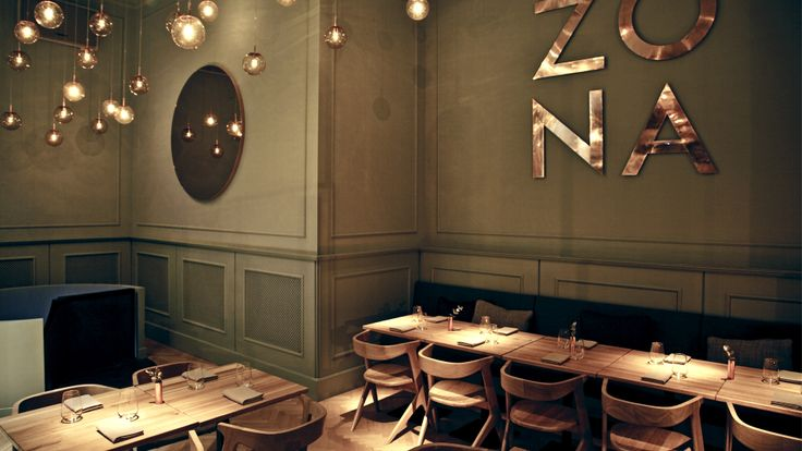 Zona Restaurant and Bar, BUDAPEST By POSITION Collective