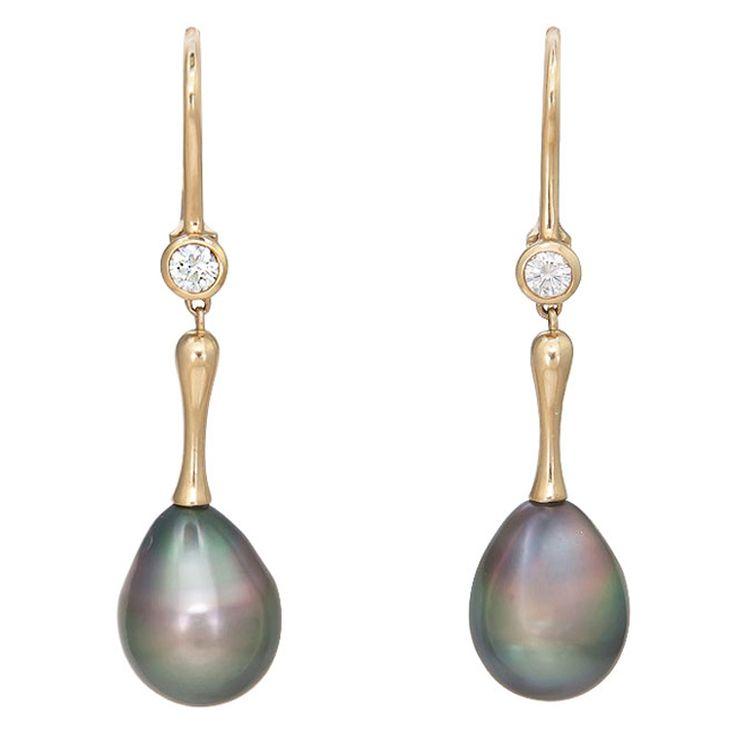 TIFFANY  ELSA PERETTI  Pearl Earrings