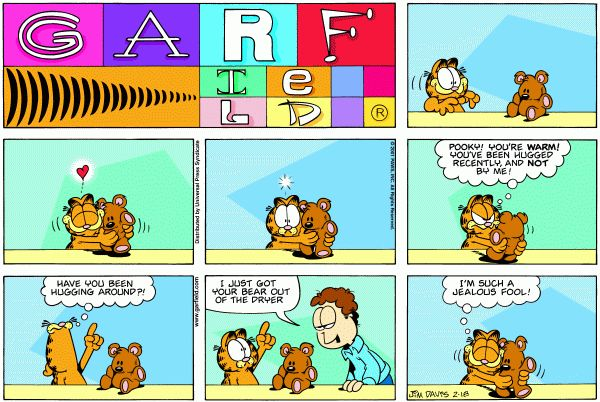 garfield and pooky | Mywoman.at: dulcinea: bussi bär ist 40..., Woman Leserin