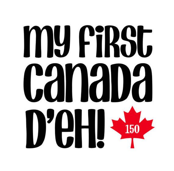 24 best onesies and tshirts images on pinterest onesies baby my first canada day personalized baby outfit gift cute eh negle Choice Image