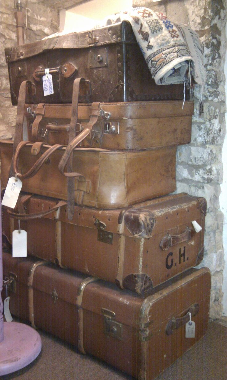 Our old trunks