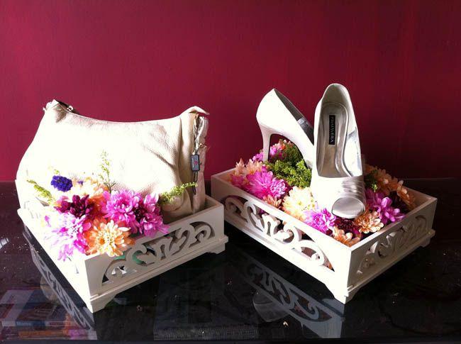 Wedding hantaran simple and sweet