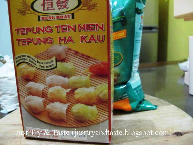 Just Try & Taste: Adonan Dasar Untuk Kulit Dumpling dan Siomay