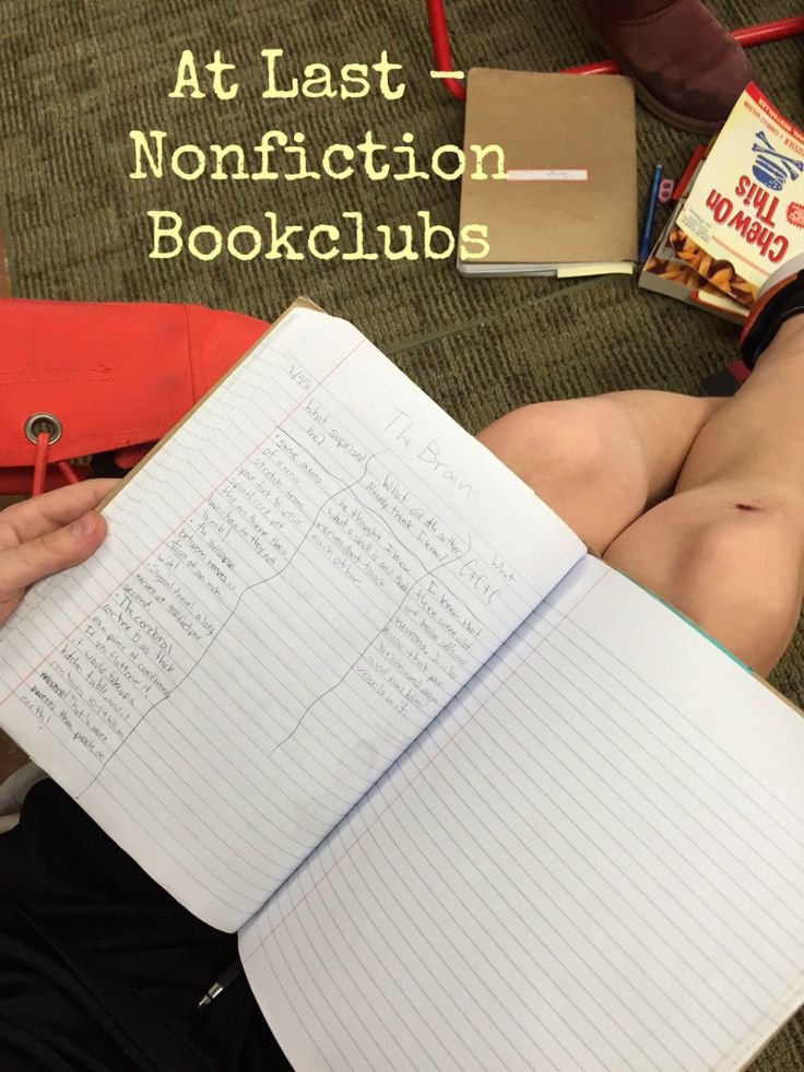 Today was an exciting day in Room 202 - our first nonfiction book club meetings...