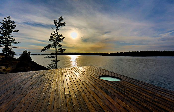 relaxing sauna - When one thinks of a relaxing sauna, a pretty well-known image…