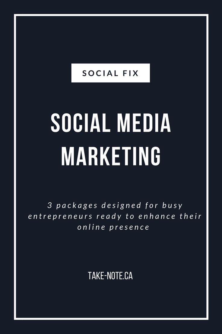 Social Media Marketing Packages for Small Businesses and Busy Entrepreneurs
