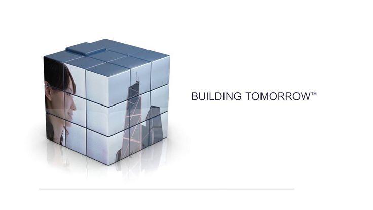 RBS cube TV spot for Bloomberg TV