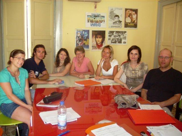 Italian language lessons at Federico II, school of Italian language and culture in Catania, Sicily