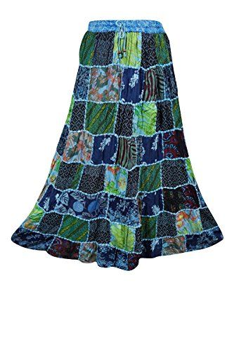 Womens Maxi Skirt Ethnic Gujarati Patchwork Blue Vintage ... https://www.amazon.ca/dp/B071HBXKLZ/ref=cm_sw_r_pi_dp_x_rQUbzbZH4EB53
