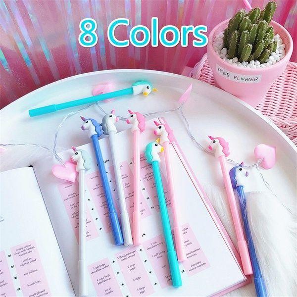Cute Unicorn Pen Cartoon Gel Ink Pens