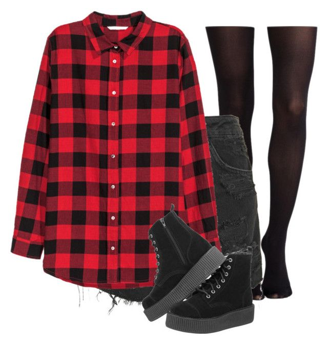 """""""Untitled #4"""" by thatonegirl232 on Polyvore featuring SPANX, Topshop and H&M"""
