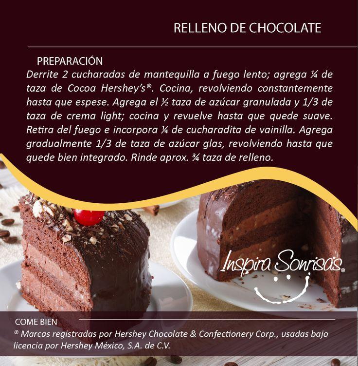 ¡La #MiniReceta que te hacía falta para tus postres! #Hersheys #Chocolate #InspiraSonrisas #Repostería #Postres #Receta #DIY #Bakery #MiniReceta