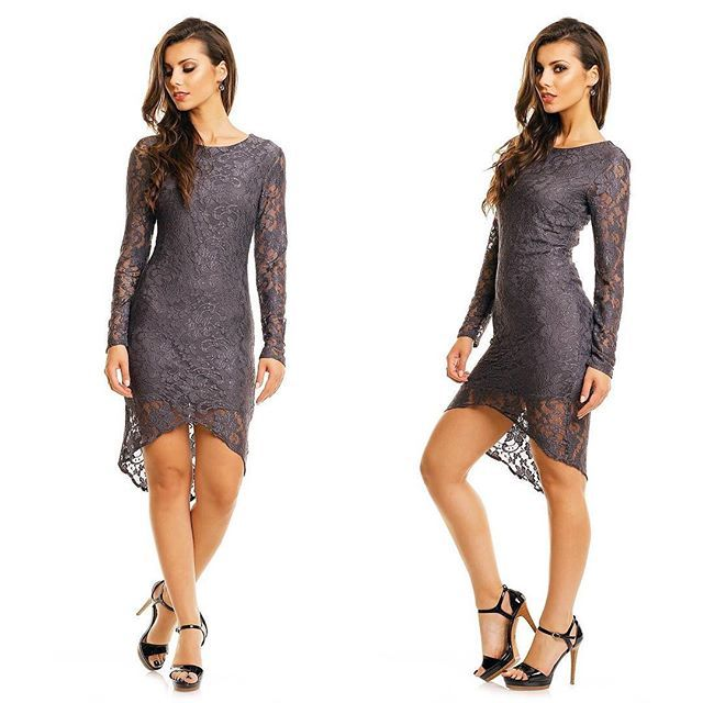 Rochie Gri Precious Pret: 149.00 Lei -> https://goo.gl/qDYA8W #dress #fashion #style #love #instagood #girl #beauty #beautiful #model #hair #shoes #cute #shopping #outfit #pretty #photooftheday #stylish #girls #ootd #rochii2018 #styles #rochiiieftine #heels #nails