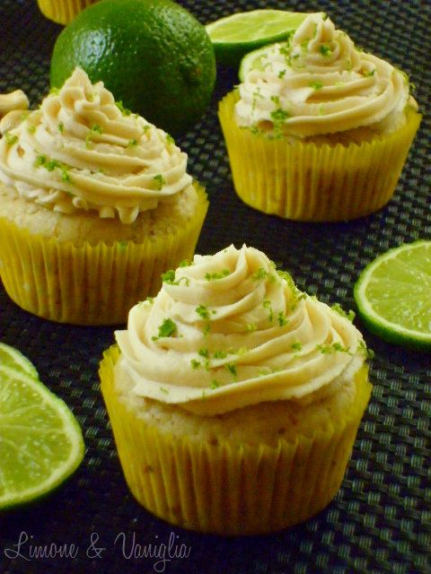 cupcakes al lime