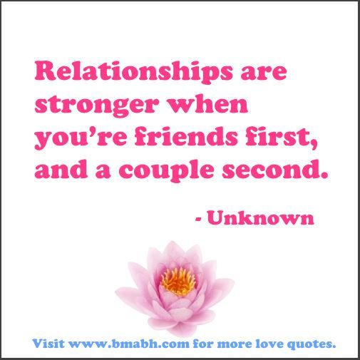 falling in love with best friend quotes-Relationships are stronger when you're friends first, and a couple second.For more #quotes and #inspiration, follow us at https://www.pinterest.com/bmabh/ or visit our website http://www.bmabh.com/