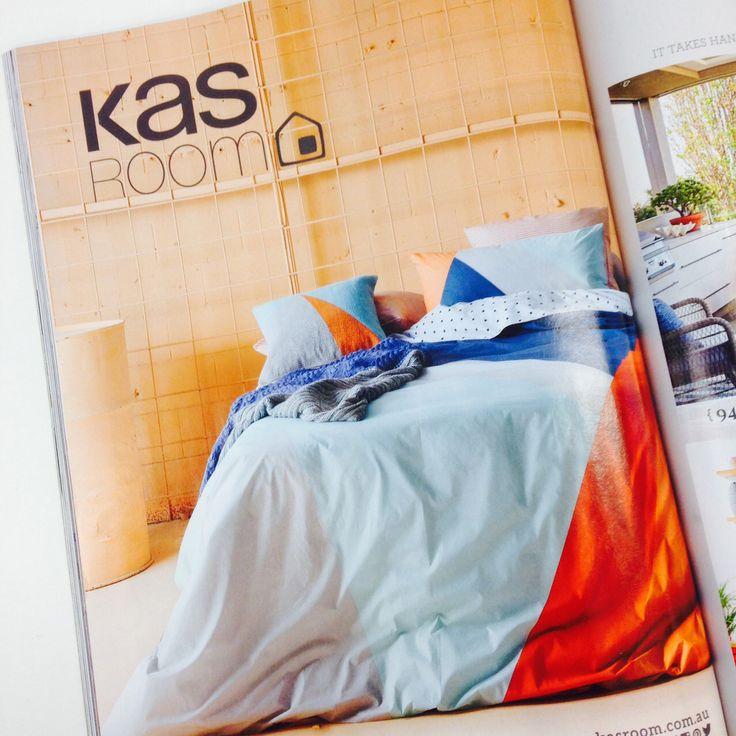 Kas Room ad featured in @homebeautiful april 2016 magazine #lovekas