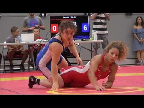 2017 Canada Cup WW53kg Abby Lloyd (BMWC) vs Tina Mclaren (Brock)