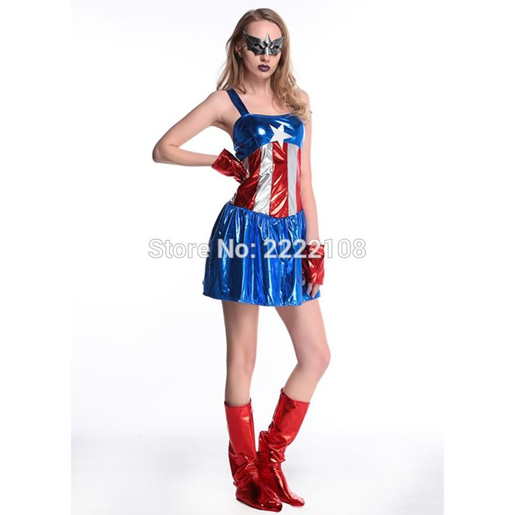 Sexy Captain America Movie Costume Women Halloween Cosplay Costume Cheap Dress Movie Avengers Lego Adult Captain America Costume -  Get free shipping. This Online shop give you the discount of finest and low cost which integrated super save shipping for Sexy Captain America Movie Costume Women Halloween Cosplay Costume Cheap Dress Movie Avengers Lego Adult Captain America Costume or any product promotions.  I think you are very happy To be Get Sexy Captain America Movie Costume Women…