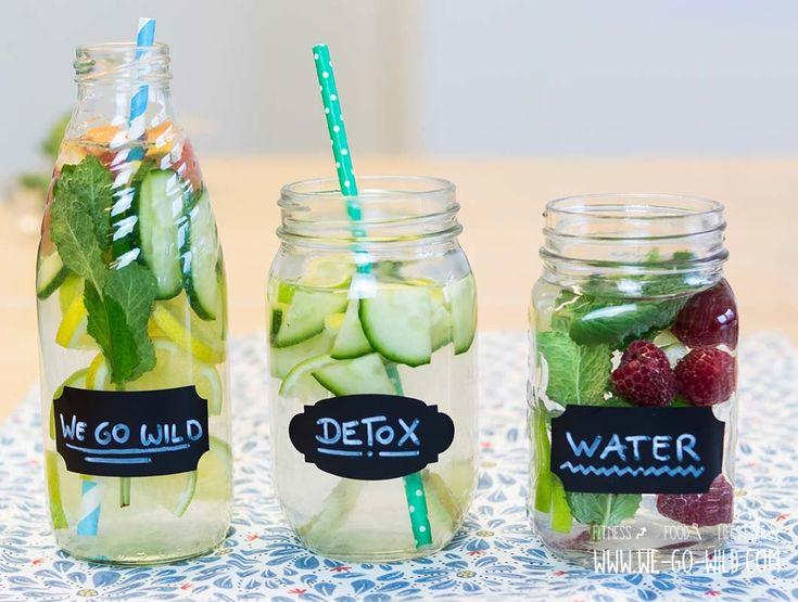 Detox-Wasser ist der neuste Schrei. Wie das Entgiftungswasser wirkt? Und wie einfach ihr es selbst machen könnt? Erfahrt ihr bei uns!
