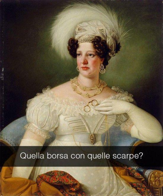 Se i quadri potessero parlare Ritratto di Cecilia d'Auersperg - Giuseppe Tomiz 1822