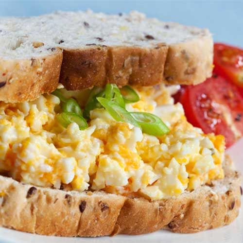 Better-for-you Egg Salad- and i do love my egg sandwiches!