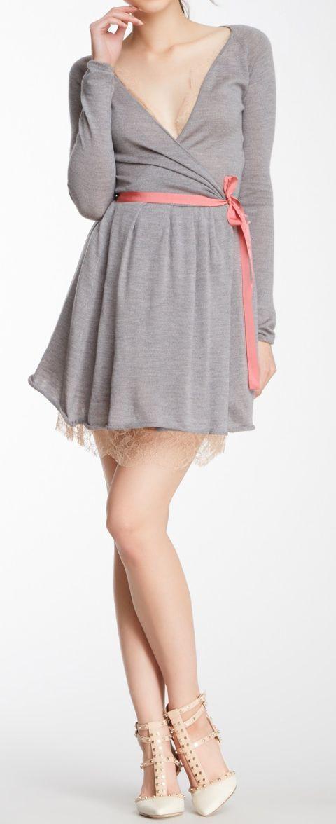 Ballerina wrap dress