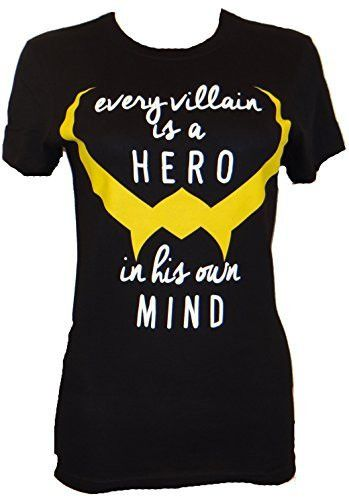 Loki was the true hero of the Avengers even if it is only is his own mind. - Officially licensed Marvel T-shirt - Juniors are designed for teenagers or smaller women and have a more fitted look. - Pri