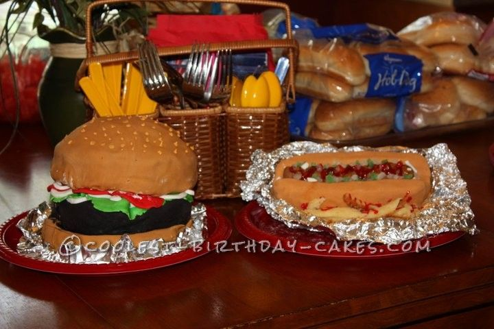 58 Best Hamburger Cakes And Party Suggestions Images On