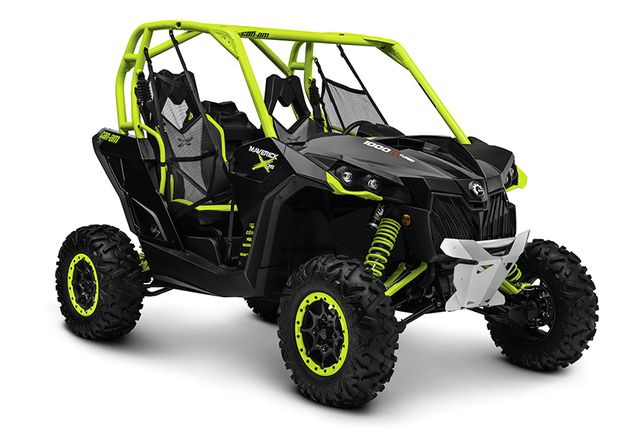 QUICK PREVIEW: THE ALL NEW 2015 CAN AM MAVERICK X DS: Can-Am's all new 2015 Maverick 1000R X DS Turbo UTV