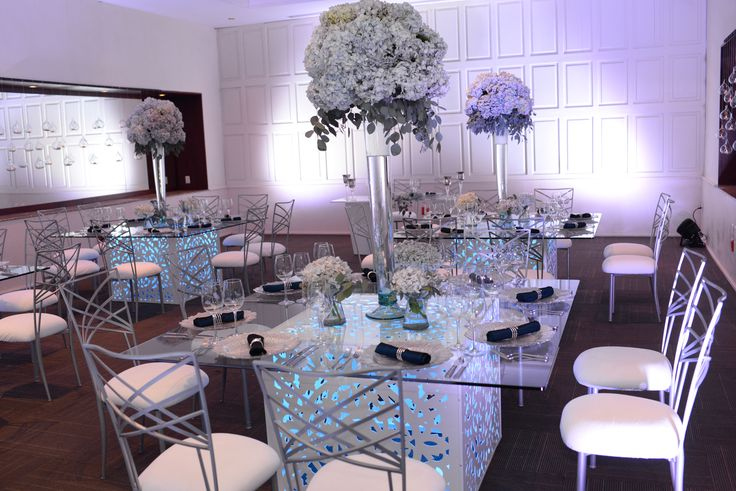 The Convention Center is the perfect location for an indoor reception here at Dreams Tulum Resort & Spa! #DestinationWedding #DreamsTulum #IndoorReception #ReceptionInspo