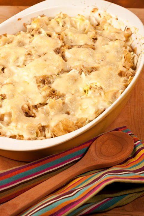 German Style Ham and Cabbage Casserole | AllFreeCasseroleRecipes.com
