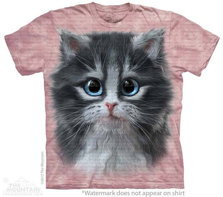 Pretty in Pink Kitten T-Shirt - 30% DISCOUNT ON ALL ITEMS - USE CODE: CYBER  #Cybermonday #cyber #discount