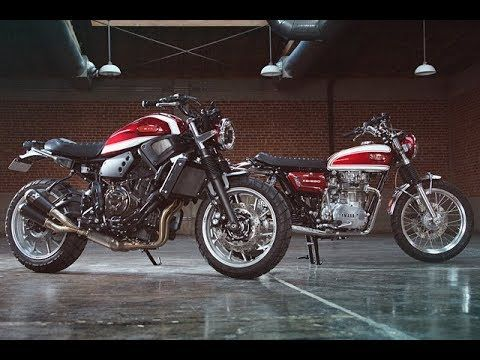 "XS650 & XSR700  ""Fast Father & Faster Son"" by Greg Hageman"