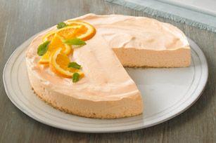 Cheesecake ensueño de naranja bajo en grasa Receta - Comida Kraft