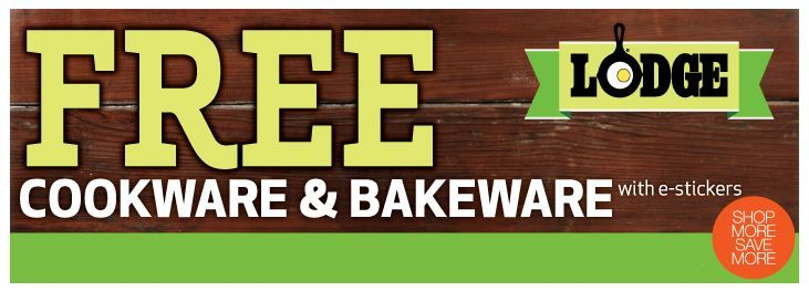 Earn Free Lodge Cookware and Bakeware at Market Street - Dallas Fort Worth  #MarketStreetTX