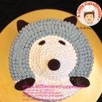 Hedgehog customised cake. A Little CakeShoppe Singapore