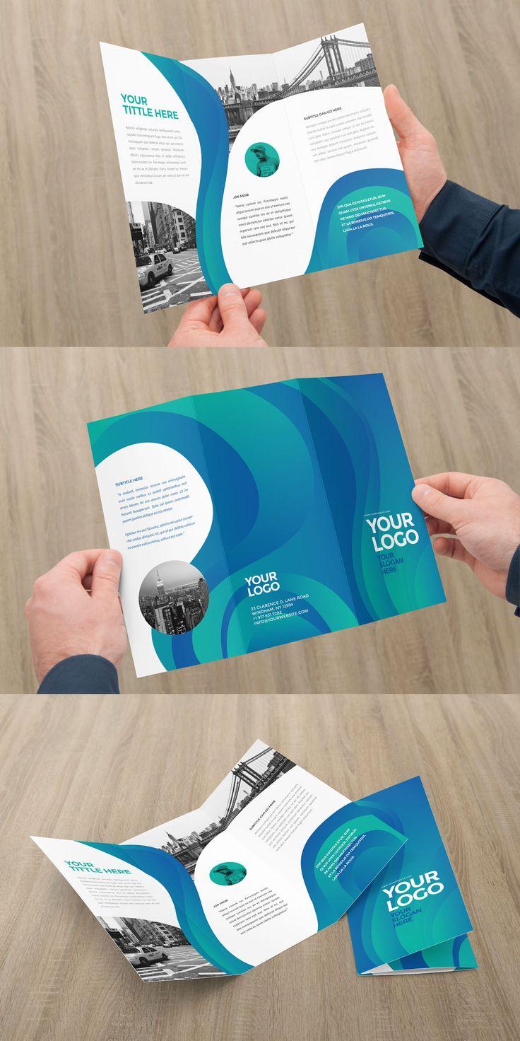 63 best trifold images on Pinterest   Brochure template, Brochures ...