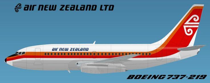 Air New Zealand 737-219 Hybrid Livery. Image via google