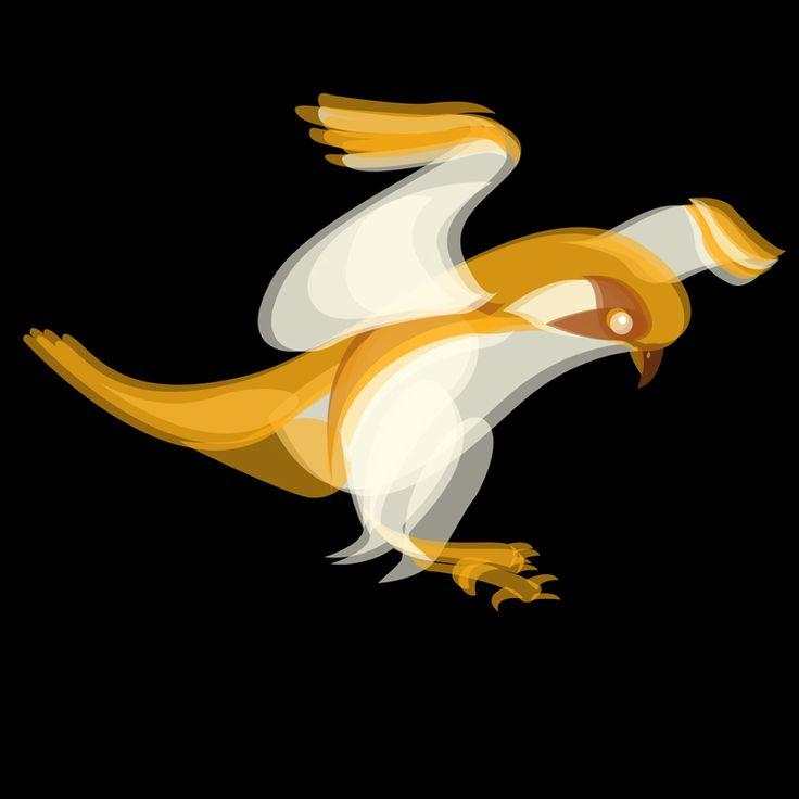 Fluid Animals: Sparrowhawk || Ben the Illustrator || http://bentheillustrator.prosite.com
