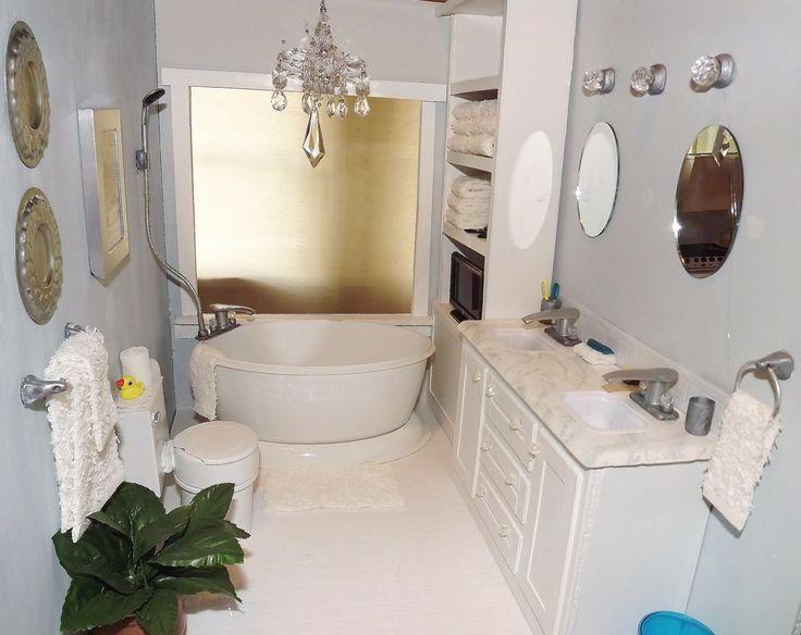 Inspiration Web Design  scale Barbie bathroom