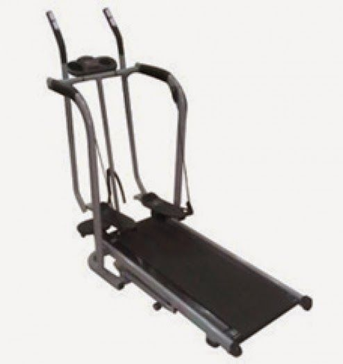 BG homeshoping Magelang: Treadmill Manual Freestyle Glider Double Feature