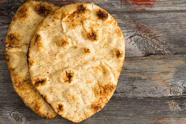 Julie Goodwin's grilled flatbread