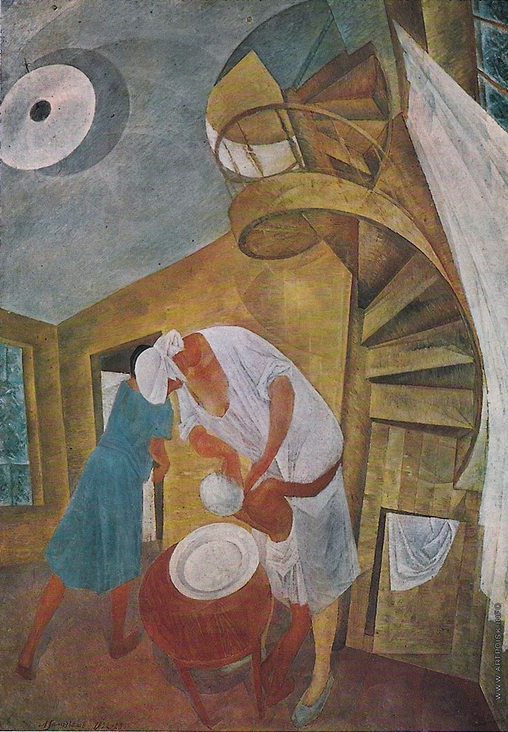 Самохвалов Александр Николаевич [1894—1971] Головомойка. 1923