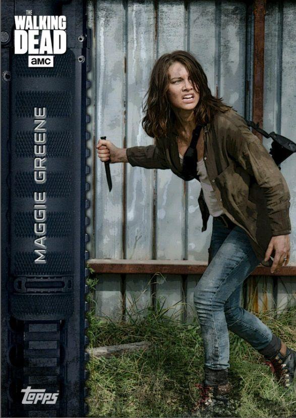 Topps The Walking Dead ARMED Maggie Greene Marathon Digital Card