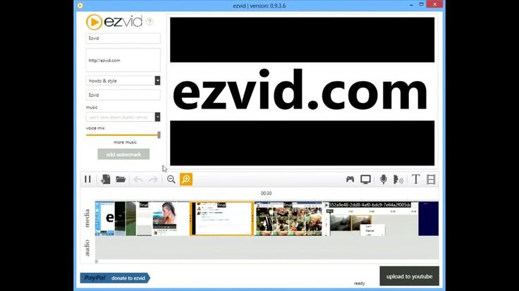 Ezvid Video Maker