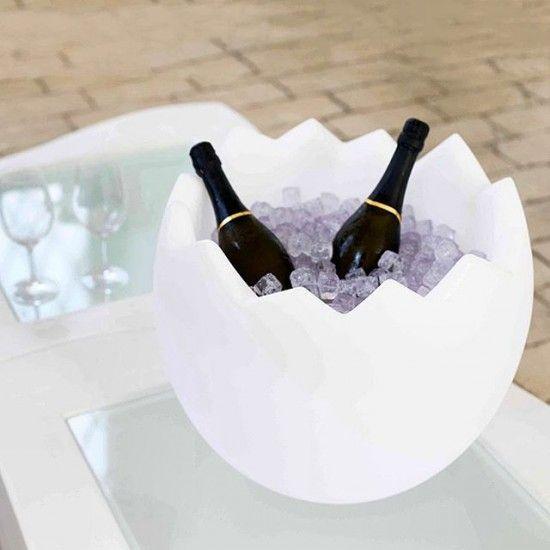Porte bouteilles seau champagne kalimera slide for Porte seau a champagne