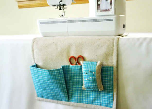 Organize your sewing space.