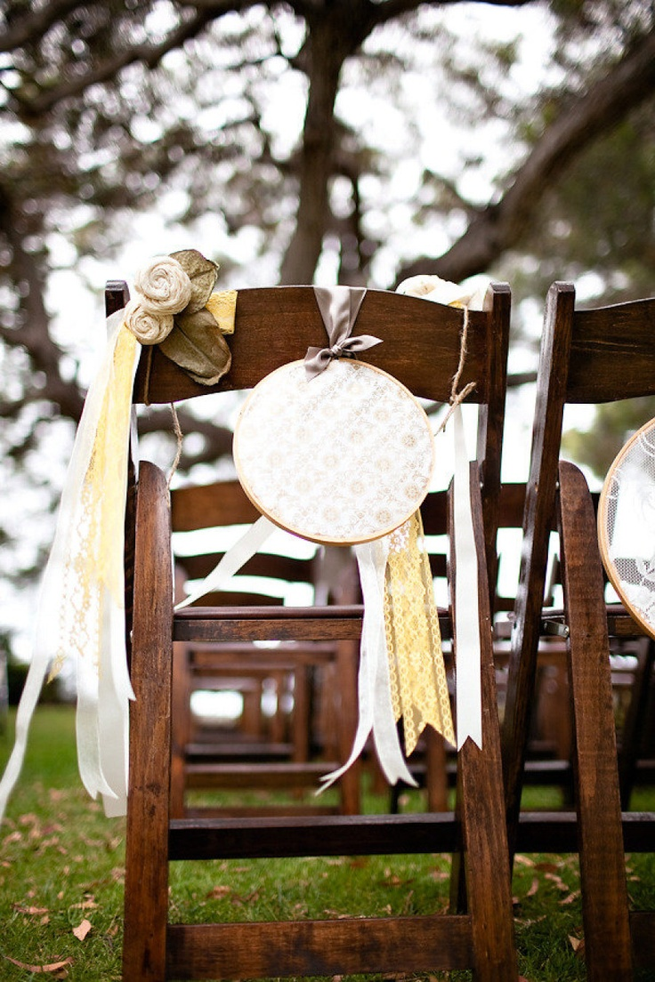 Wedding chair decorations diy   best Stefiana Wedding images on Pinterest  Decor wedding Wedding