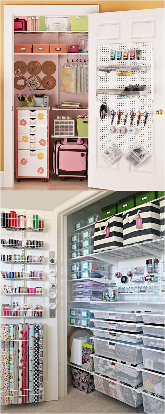 21 Great Ways To Easily Organize Your Workshop And Craft Room